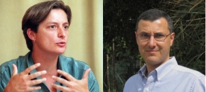 Judith Butler and Omar Barghouti, the speakers whose appearance at Brooklyn College has sparked controversy