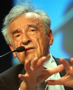 Elie Wiesel doesn't want to hear about human rights when it comes to Israel
