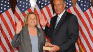 Ileana Ros-Lehtinen and John Boehner
